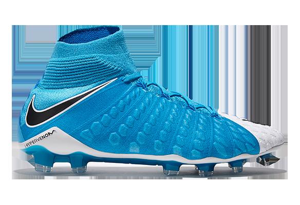 Nike Hypervenom Phantom III Df Fg Голубой-Белый