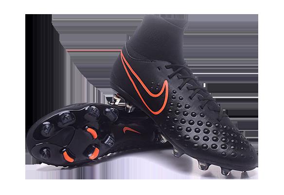 Nike Magista Orden II FG Черные с носком