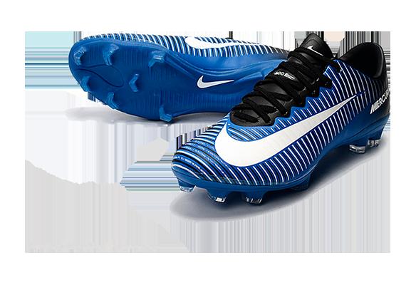 Nike Mercurial Superfly V FG Синие в полоску