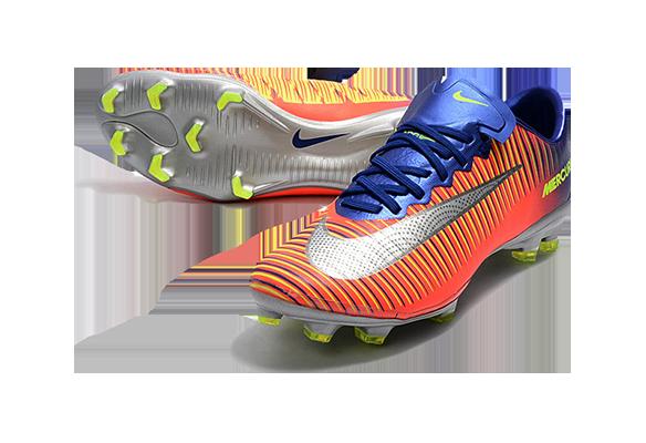 Nike Mercurial Superfly V FG Оранжевые с Синим