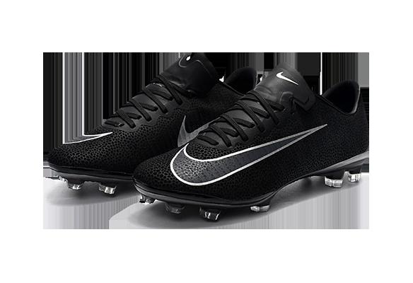 Nike Mercurial Vapor XI FG Черные с Серым