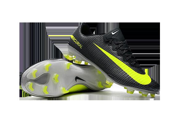 Nike Mercurial Vapor XI FG Черные с Желтым