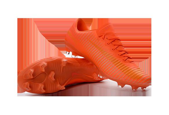 Nike Mercurial Vapor XI FG Оранжевые