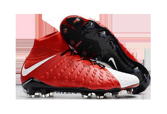 Nike Hypervenom Phantom III DF FG Красный/Белый