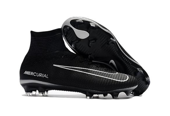 Nike Mercurial Superfly V FG Черно-серые