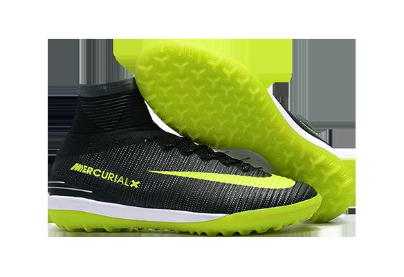 Nike MercurialX Proximo II CR7 TF Черные с Зеленым