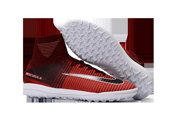 Nike MercurialX Proximo II TF Красные с Черным