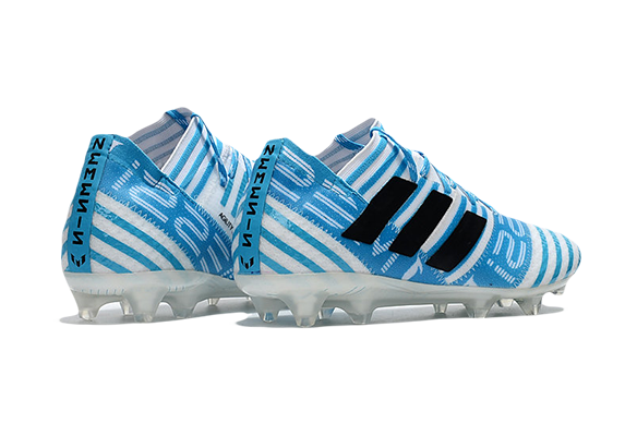 Adidas Nemeziz 17.1 FG Бело-синие