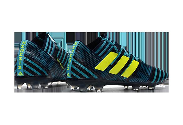 Adidas Nemeziz 17.1 FG Черные с синим