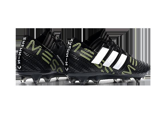 Adidas Nemeziz 17.1 FG Черные с белым