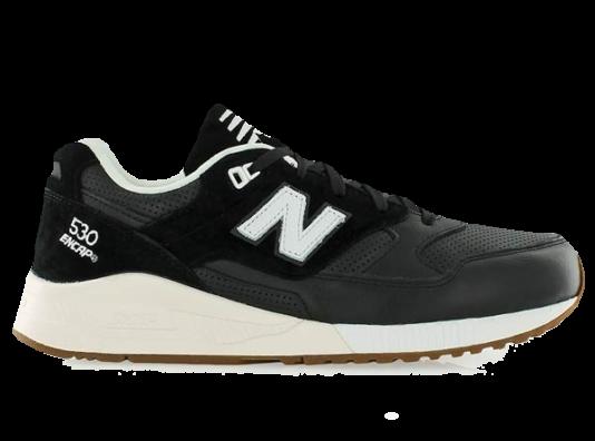 New Balance 530 Черные с сеткой