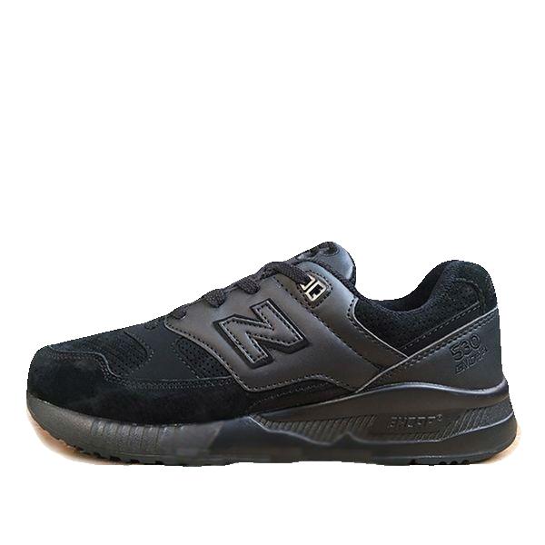 New Balance 530 Черные Замша