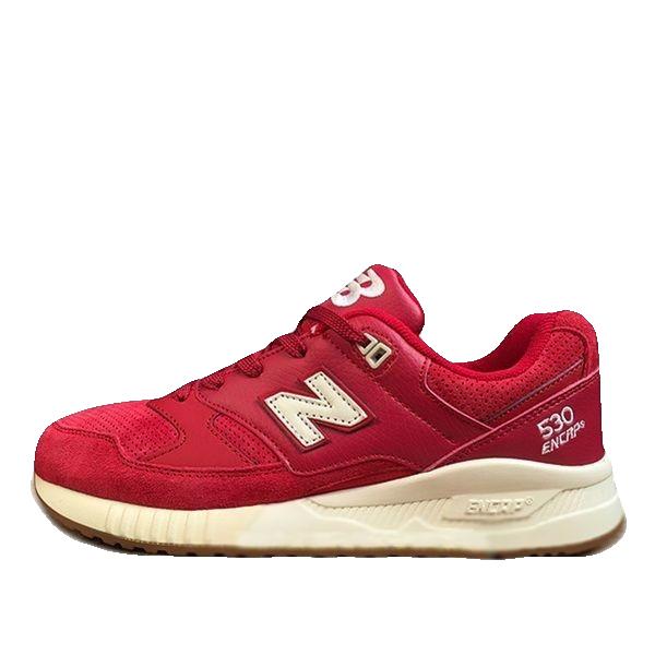 New Balance 530 Красные Замша