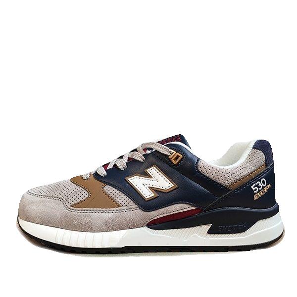 New Balance 530 Серые Замша