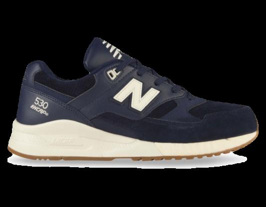 New Balance 530 Синие с сеткой