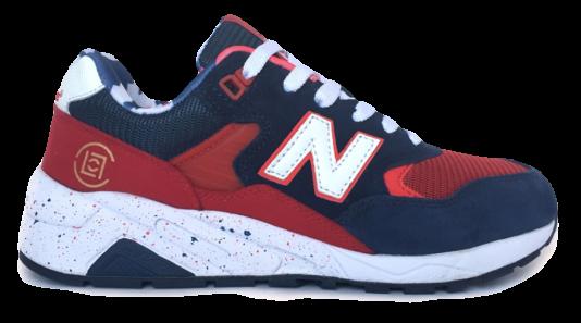 New Balance 580 Синие с красным