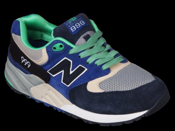 New Balance 999 сине-зеленые