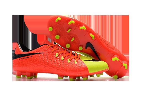 Nike Hypervenom 3 FG Оранжевые с желтым