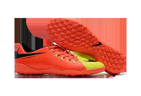 Nike Hypervenom 3 TF Оранжевые с Желтым