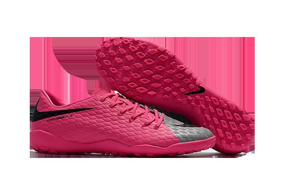 Nike Hypervenom 3 TF Розовые с Серым
