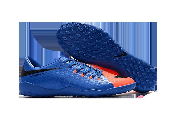Nike Hypervenom 3 TFСиние с Оранжевым