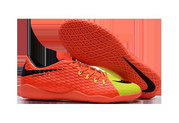 Nike Hypervenom IC Оранжевые с Желтым