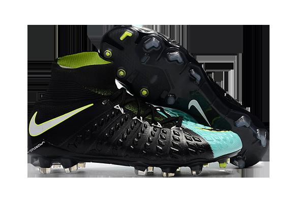 Nike Hypervenom Phantom III DF FG Голубой/Черный