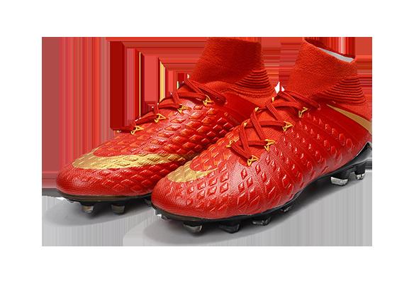 Nike Hypervenom Phantom III DF FG Красные