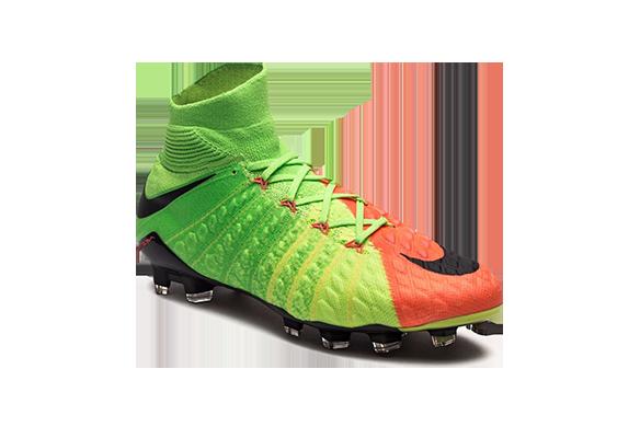 Nike Hypervenom Phantom III Df Fg Зеленый-Оранжевый