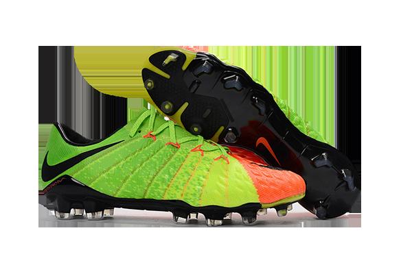 Nike Hypervenom Phantom III FG Оранжевый/Зеленый