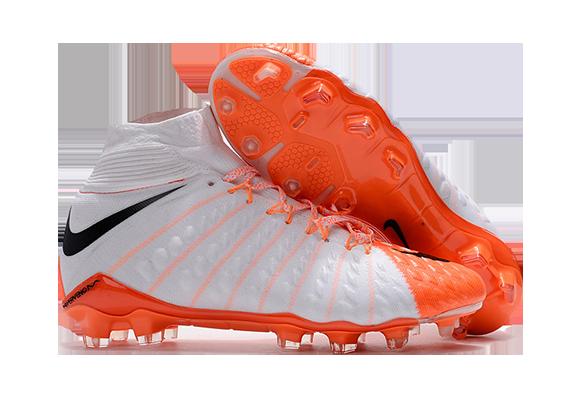 Nike Hypervenom Phantom III Белый/Оранжевый