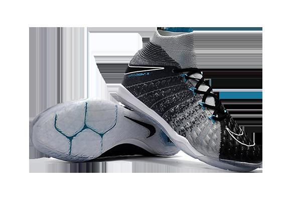 Nike HypervenomX Proximo II DF IC Черные с Серым