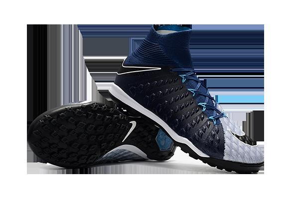 Nike HypervenomX Proximo II DF TF черные с носком
