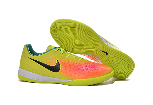 Nike Magista II IC Желтые с Оранжевым