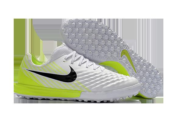 Nike MagistaX Finale II TF Белые с Желтым