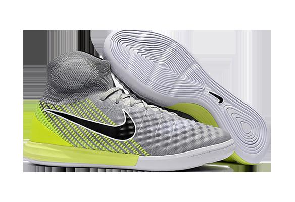 Nike MagistaX Proximo II IC Серые с Зеленым