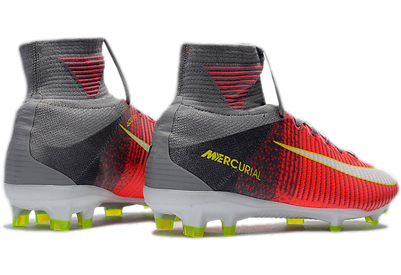Nike Mercurial Superfly V FG Красно-серые
