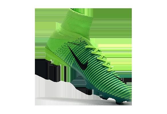 Nike Mercurial Superfly V FG Зеленые