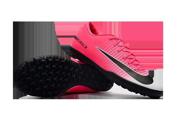 Nike Mercurial Victory VI TF Розовые с Белым