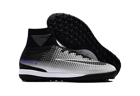 Nike MercurialX Proximo II TF Черные с Серым