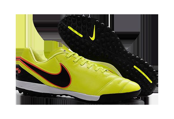 Nike Tiempo Legend TF Желтые
