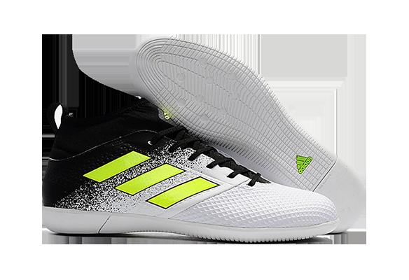 Adidas Ace 17.3 Primemesh IC Черные с Белым