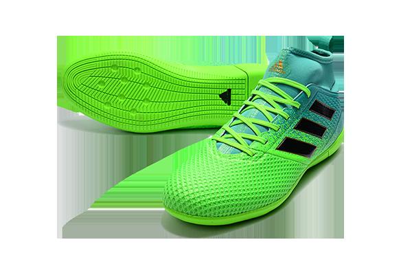 Adidas Ace 17.3 Primemesh IC Зеленые