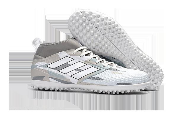 Adidas Ace 17.3 Primemesh TF Белые с Серым
