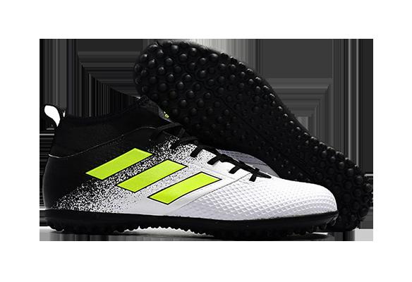 Adidas Ace 17.3 Primemesh TF Черные с Белым