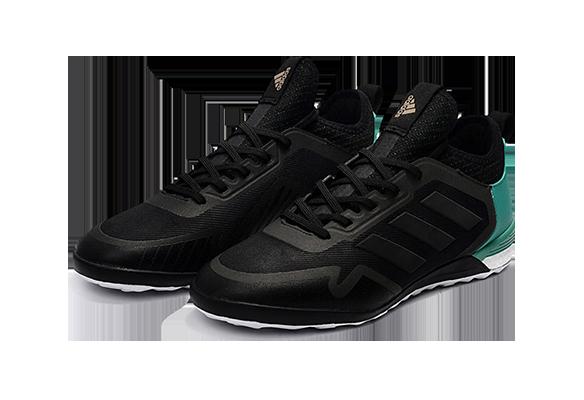 Adidas Ace Tango 17+ Purecontrol IC Черные с Бирюзовыми
