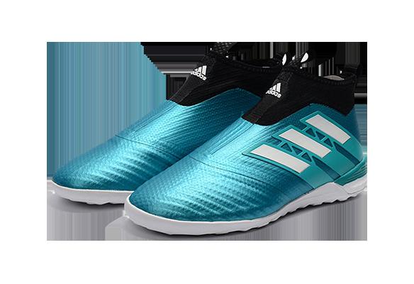 Adidas Ace Tango 17+ Purecontrol IN/IC Бирюзовые