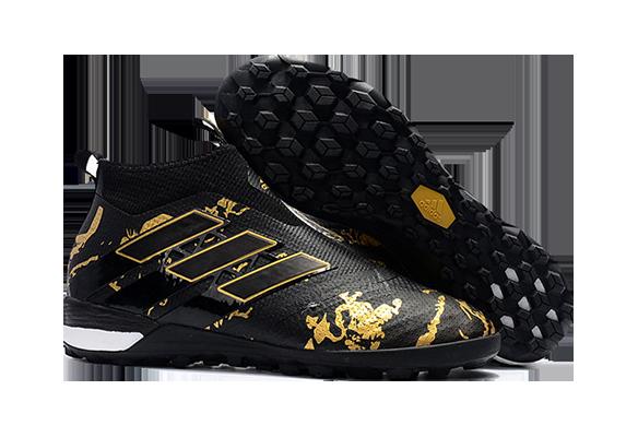 Adidas Ace Tango 17+ Purecontrol TF Черные с Золотым