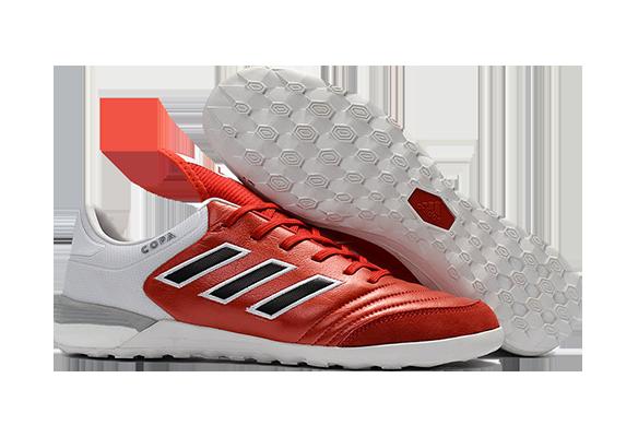 Adidas Copa Tango 17.1 IN/IC Красные с Белым