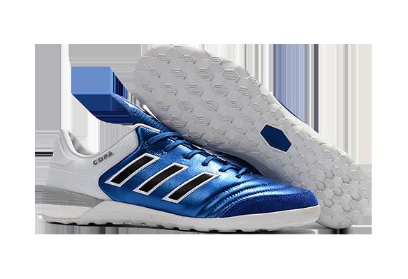 Adidas Copa Tango 17.1 IN/IC Синие с Белым